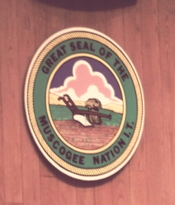 Great Seal of the Muscogee (Creek) Nation